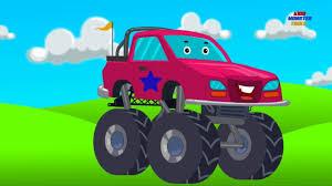 100 Kids Monster Trucks Monster Truck Toy Truck Stunts Actions