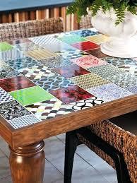 tile kitchen table tile kitchen table tile top dining table patio