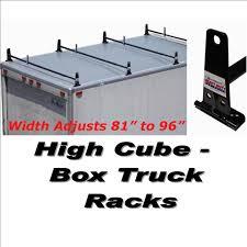 100 Vanguard Truck Racks VANVRHCSW Bolt Down Steel High CubeBox Rack VR