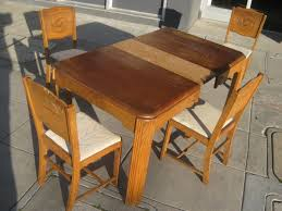 1940S Oak Kitchen Table O Kitchen Tables