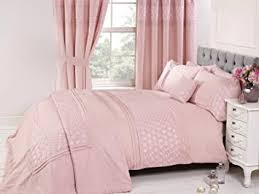 Bedding Heaven Beautifully embroidered EVERDEAN Duvet Cover Pink