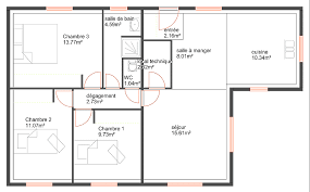 plan maison 90m2 plain pied 3 chambres plan maison de plain pied 3 chambres 14 maison 90m2 top maison
