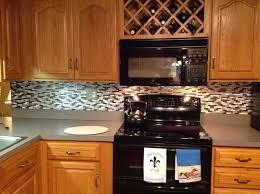 Harmony Mosaik Smart Tiles by Peel And Stick Kitchen Backsplash Smart Tiles Fixer Upper