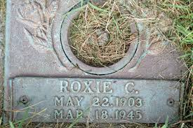 Roxie C Miller Ingle 1903 1945 Find A Grave Memorial