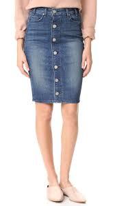 mcguire denim marino skirt shopbop