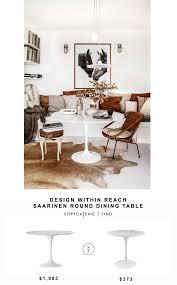 Design Within Reach Saarinen Round Dining Table