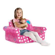 Minnie Mouse Flip Open Sofa by Marshmallow Furniture Children U0027s Upholstered 2 In 1 Flip Open Sofa