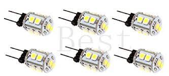 best to buy皰 6 pack 2 1 watt g4 led bulb 12v ac dc 10smd 5050
