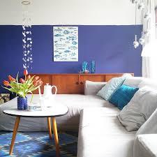 blau türkis und ein touch orange interior einrichtung