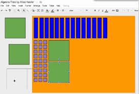 Virtual Algebra Tiles For Ipad by Using Google Draw For Virtual Manipulatives Teacher Tech
