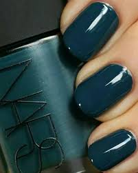 Nars Nail Polish Love This Dark Teal Blue Especially For Fall And Winter The Shape Is Pretty I Square Mine A Tad More But Im Not Fan Of