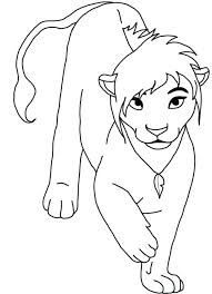 Free Lion King Coloring Pages To Print Colouring Printable Online Game