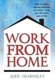 Work from home book by Judy Heminsley