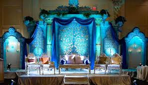 Wonderful Peacock Wedding Decoration Image Peacock Wedding