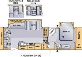 Jayco Fifth Wheel Floor Plans 2018 by 2008 Jayco Eagle 299rls Fifth Wheel Cincinnati Oh Colerain Rv