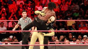 Wwe Goldust Curtain Call by Triple Threat Cle Wrestling Lockup With Brandon 7 11 17 Raw