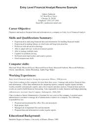 Data Analyst Resume Examples Also Summary Template