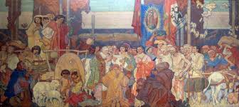 Coit Tower Murals Wpa by Dc La Mural Dean Cornwell Pinterest Dean Cornwell And