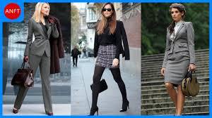 classy u0026 elegant fashion combinations for business woman youtube