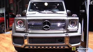 2015 Mercedes Benz G Class G65 AMG Exterior and Interior
