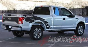100 Ford Truck Decals 20152019 F150 Torn Bed Mudslinger Style Side Vinyl
