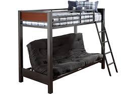 Louie Gray Twin Futon Loft Bed Bunk Loft Beds Colors