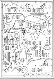 Instant Download Colouring In Bible Verse