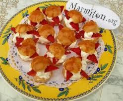 choux garnis de chantilly et de fraises recette de choux garnis