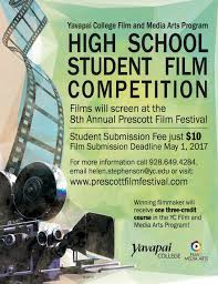 Attention High School Film Visual Media Programs