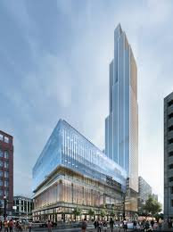 100 Hudson Architects Detroit To Host Michigans Tallest Building At Former S Site