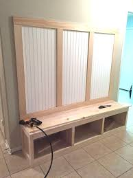 Diy Mudroom Bench Plans Awesome Mudroom Bench and Coat Rack
