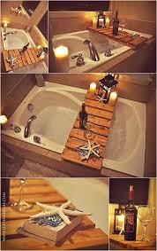 Diy Bathtub Caddy With Reading Rack by 10 Diy Cool And Chic Decoration Ideas For Bathrooms 5 Bath Caddy