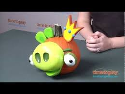 Pumpkin Push Ins Target by Angry Birds Pumpkin Push Ins From Paper Magic Group Youtube