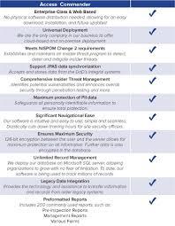 access commander mathcraft security technologies inc