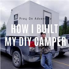 100 Camper Truck Bed DIY How I Built My PREY ON ADVENTURE
