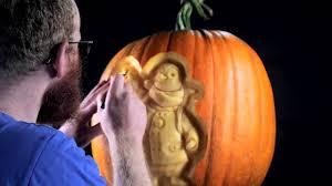 Penguin Halloween Pumpkin Stencil by Pumpkin Carving Of Wilbur The Penguin British Gas Youtube