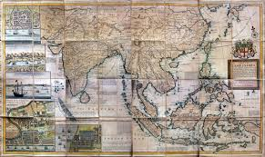 A Map Of The East Indies And Adjacent Countries By HMoll