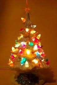Cracker Barrel Ceramic Christmas Tree Replacement Bulbs by Ceramic Christmas Tree Lights Vintage New Ebay