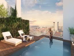 vier schlafzimmer luxus penthouse mit privater terrasse in lissabon portugal zum verkauf 10790581