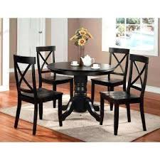 Black Dining Room Table 5 Piece Set Friday
