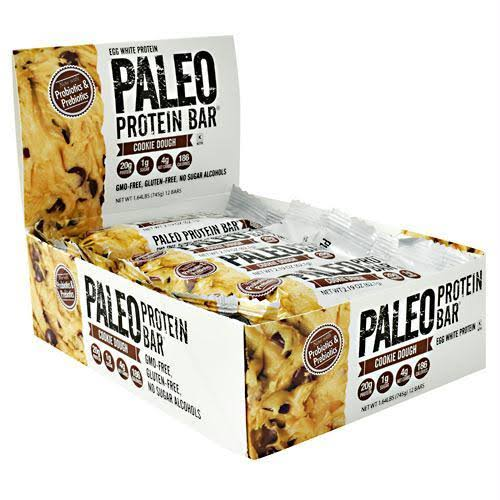 Julian Bakery Paleo Protein Bar Cookie Dough - 12 Bars