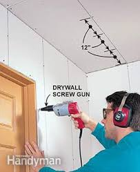 Ceiling Joist Spacing For Gyprock by How To Hang Drywall Like A Pro U2014 The Family Handyman