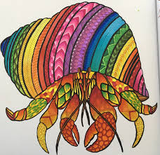 Halloween Hermit Crab Molting by Hermit Crab From Millie Marotta U0027s Curious Creatures Using Copic