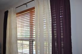 Pennys Curtains Blinds Interiors by Ceiling Interesting Burlap Curtains For Complete The Family