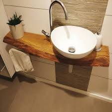 badezimmer waschbecken mit unterschrank kleines waschtisch