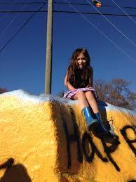 Sauvie Island Pumpkin Patch Cow Train by Body Chezb Be Fun Be Free Be Children
