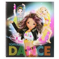 Album De Coloriage Thème Danse De Top Model Jeux Créatifs