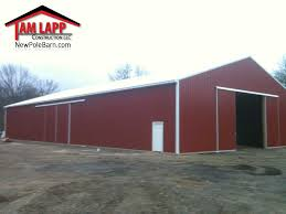 Agricultural Polebarn Building Stewartsville - Tam Lapp ... Commercial Polebarn Building Hammton Tam Lapp Cstruction Llc Residential Pole Tristate Buildings Pa Nj Barn Kits Garage De Md Va Ny Ct Prices Diy Barns Best 25 Apartment Plans Ideas On Pinterest With Builder Lester Open Shelter And Fully Enclosed Metal Smithbuilt By Conestoga Door Pioneer Amish Builders In Pa