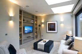 what size are the recessed lights is 3 inches small for a tv room