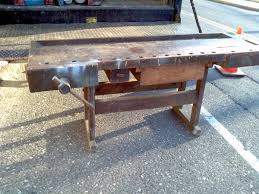 Woodworking Bench For Sale by Antique Workbench Obnoxious Antiques